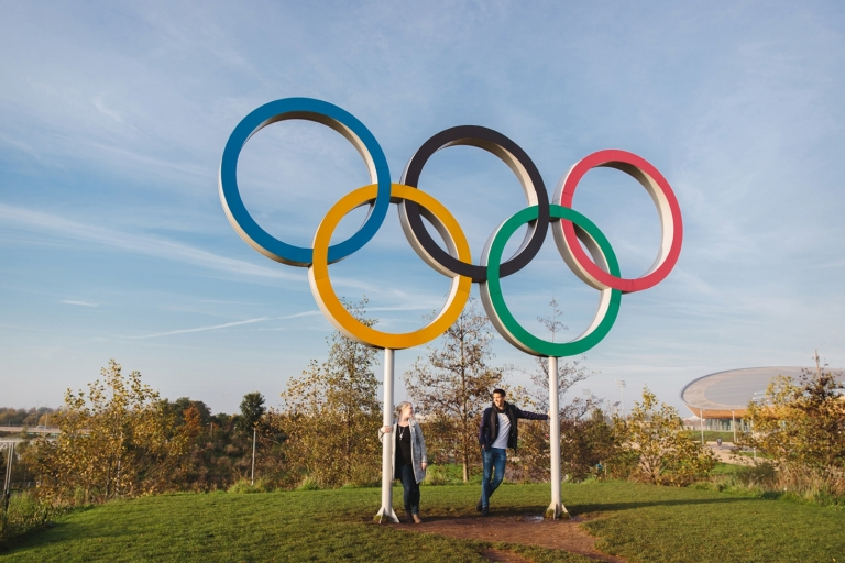 stratford london olympic park engagement shoot