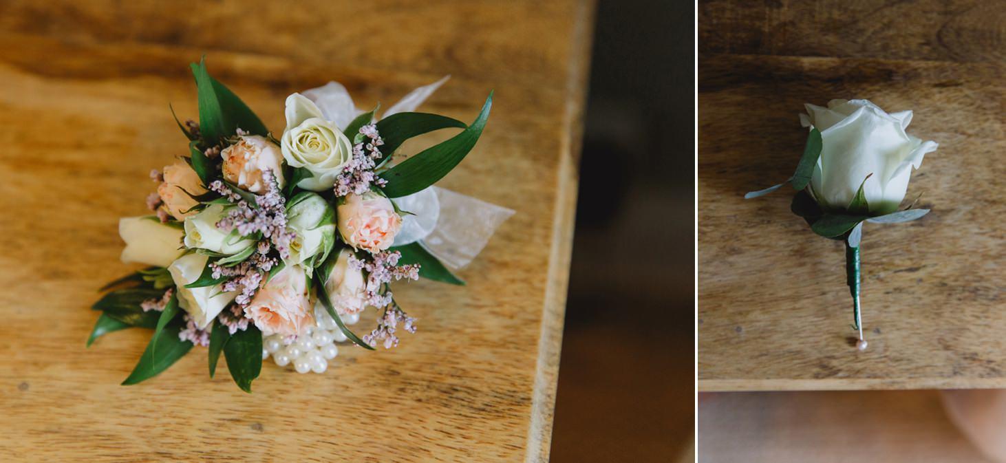 oxfordshire wedding photography flower cuffs