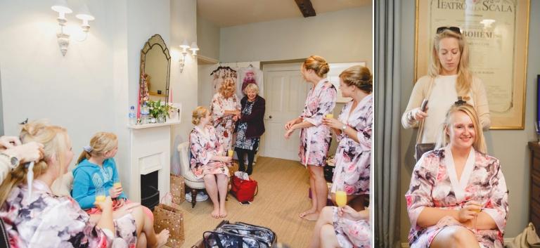 oxfordshire wedding photography brides grandmother