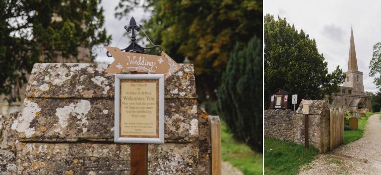 oxfordshire wedding photography church hanborough