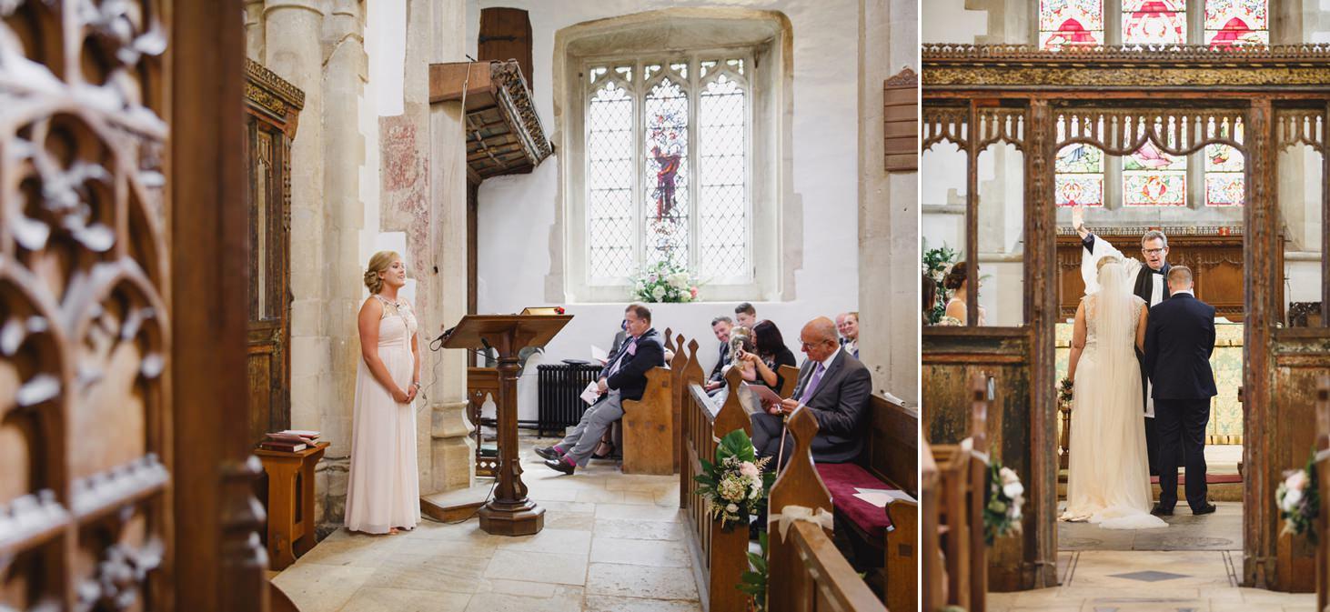 oxfordshire wedding photography church wedding