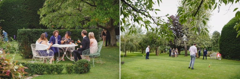 oxfordshire wedding photography wedding guests