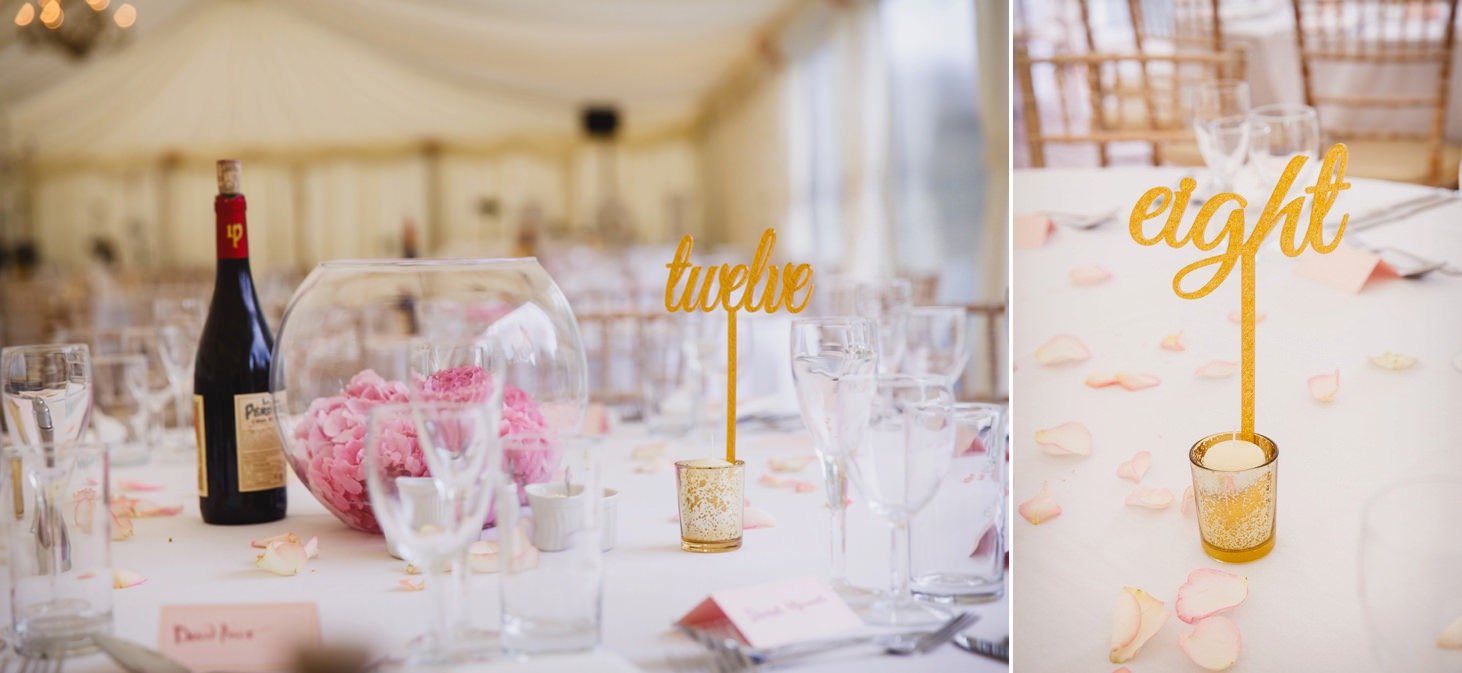 oxfordshire wedding photography table decorations