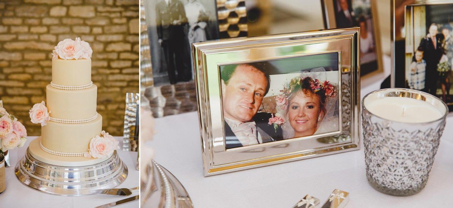 oxfordshire wedding photography wedding cake
