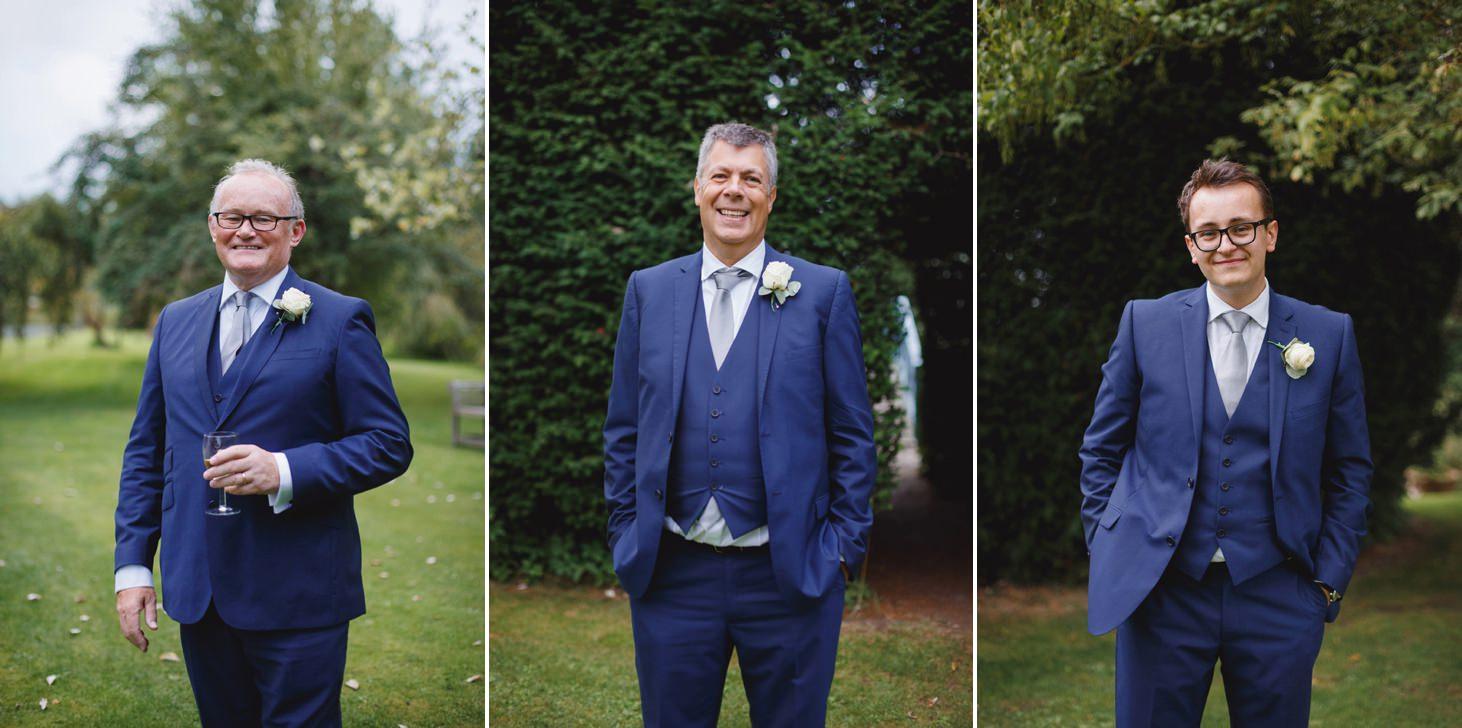 oxfordshire wedding photography groomsmen