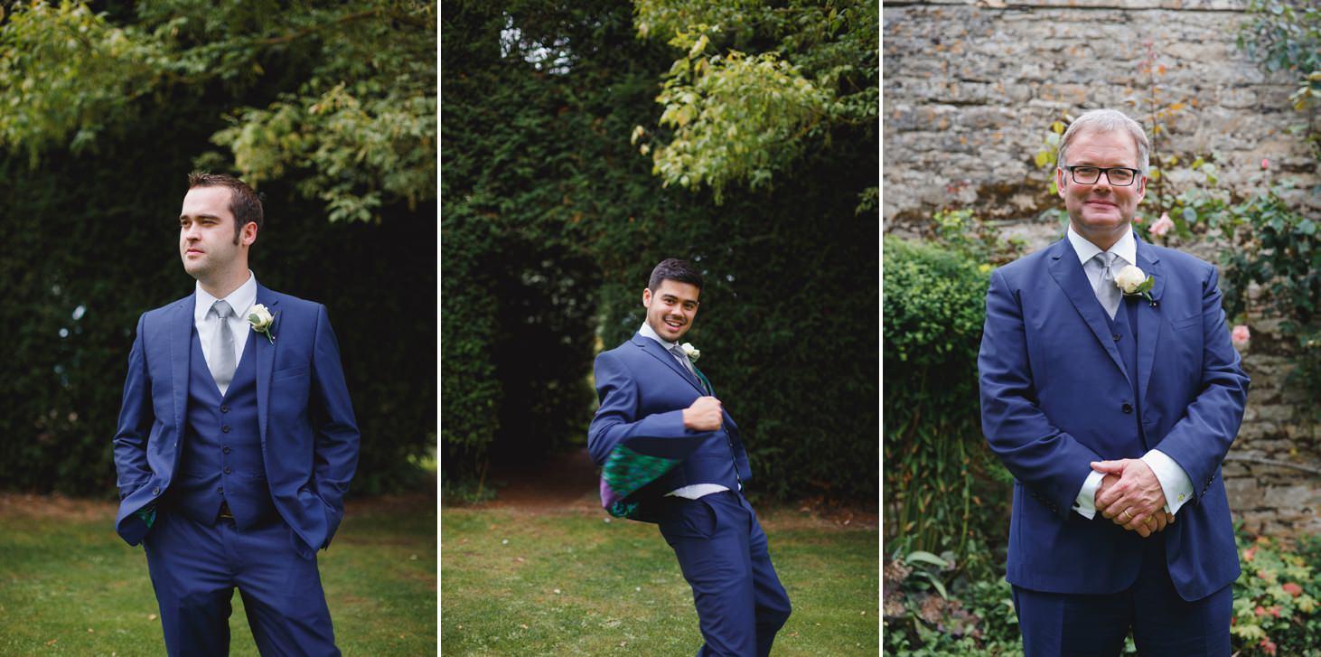 oxfordshire wedding photography groomsmen portraits