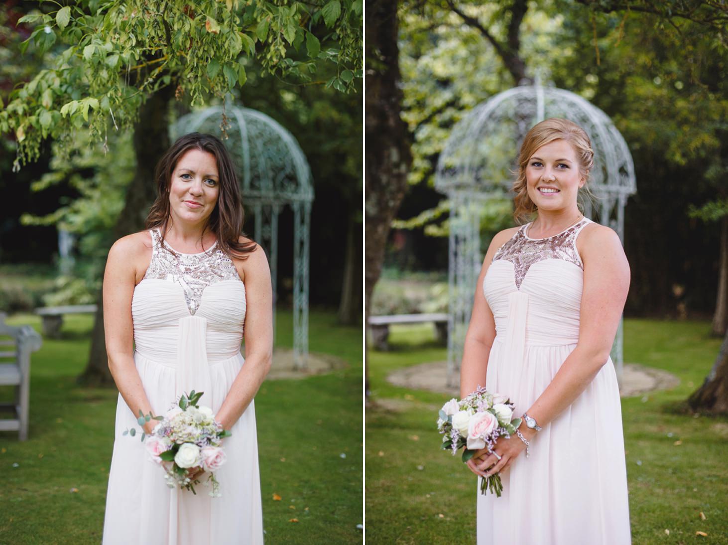 oxfordshire wedding photography bridesmaids