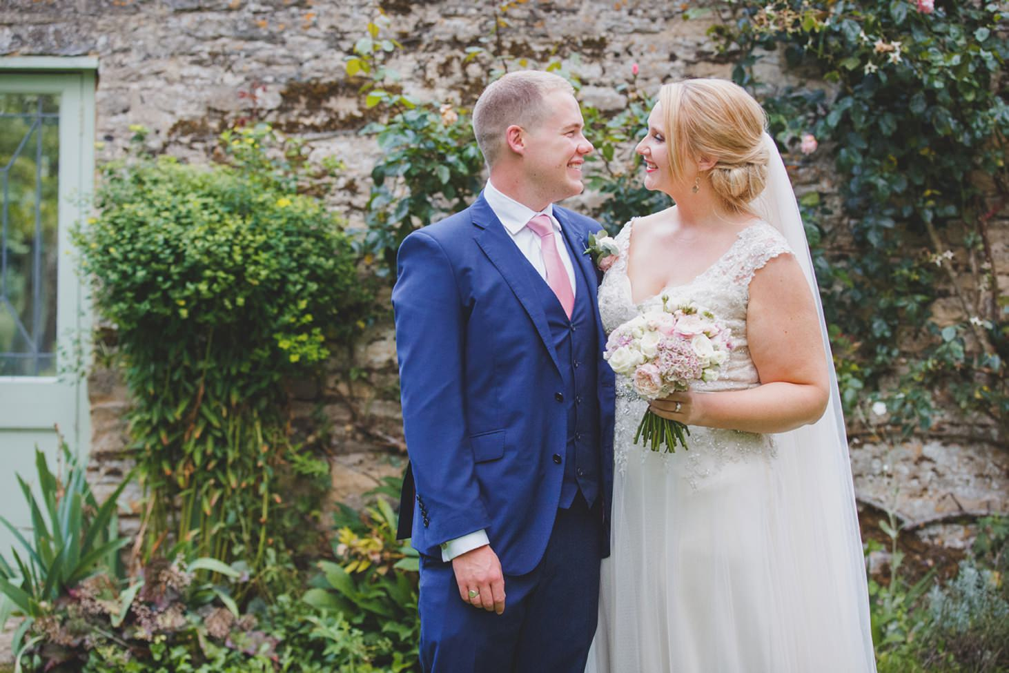 oxfordshire wedding photography bride and groom together