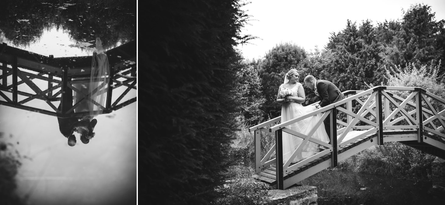 oxfordshire wedding photography bride and groom portraits