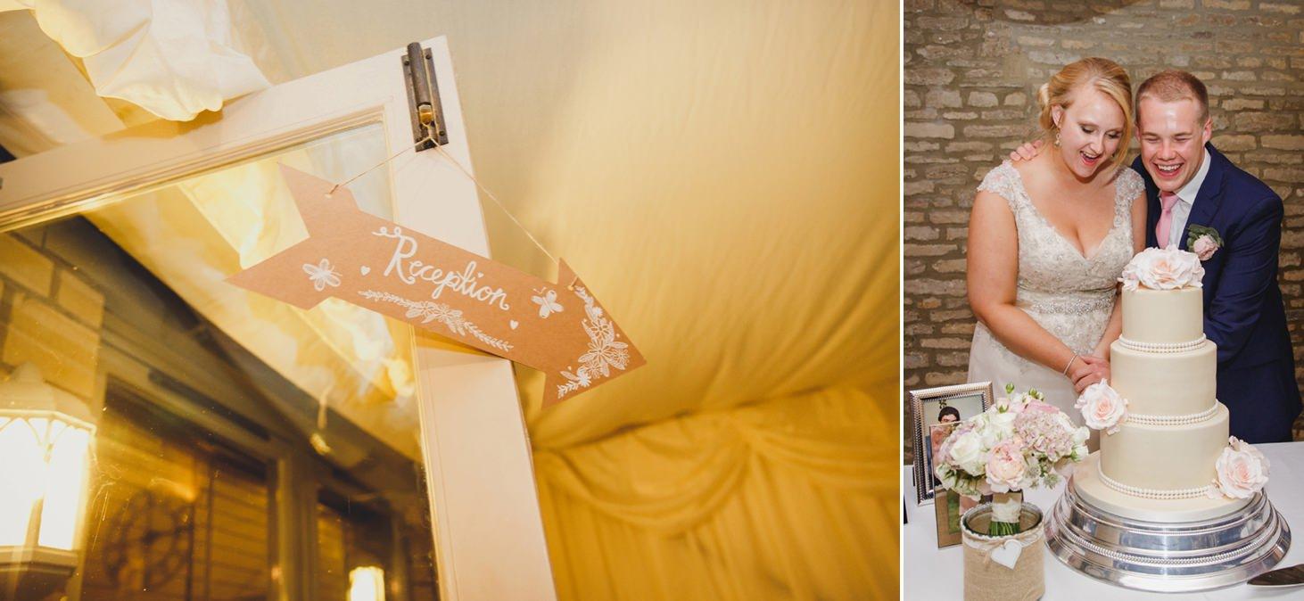 oxfordshire wedding photography wedding reception
