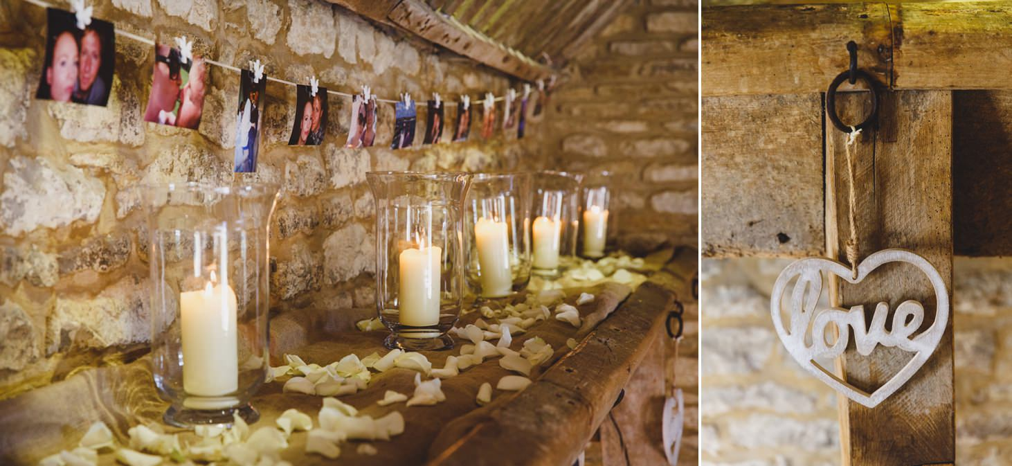 Caswell House wedding photography indoor decorations