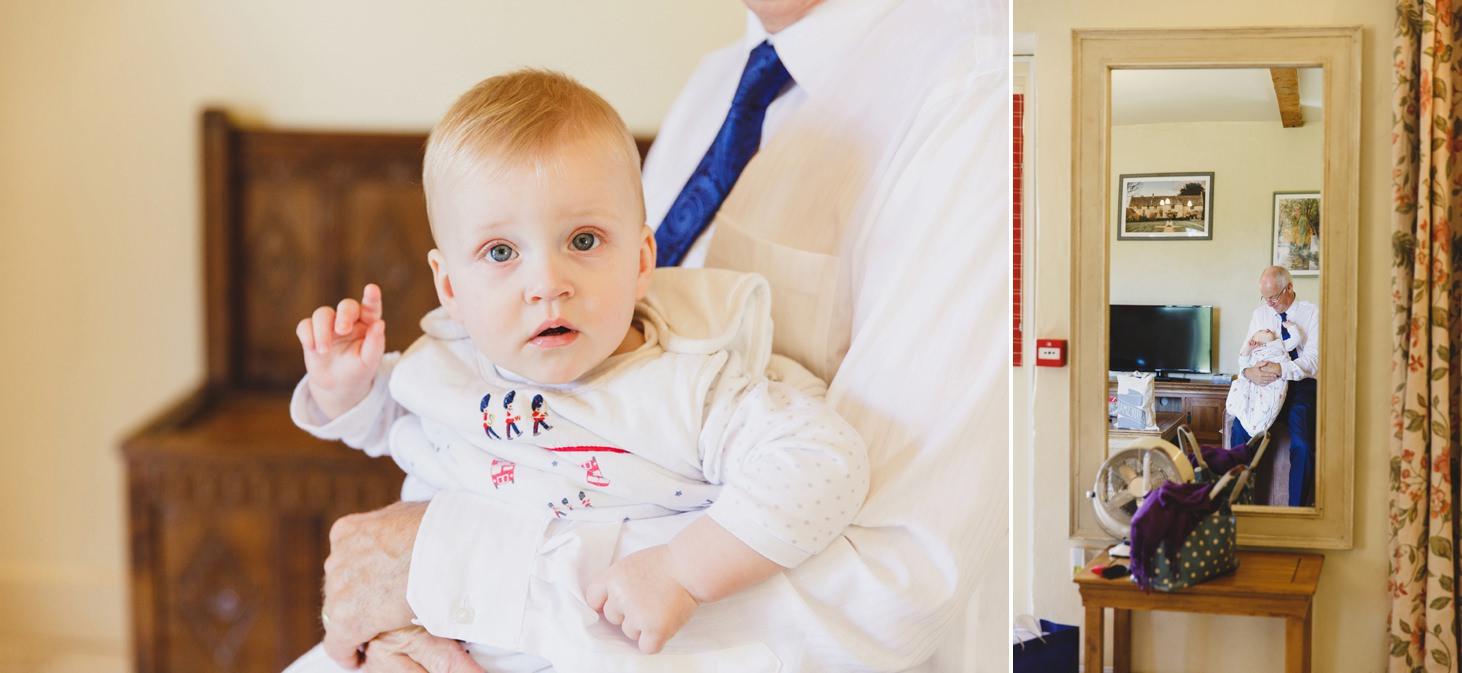 Caswell House wedding photography baby