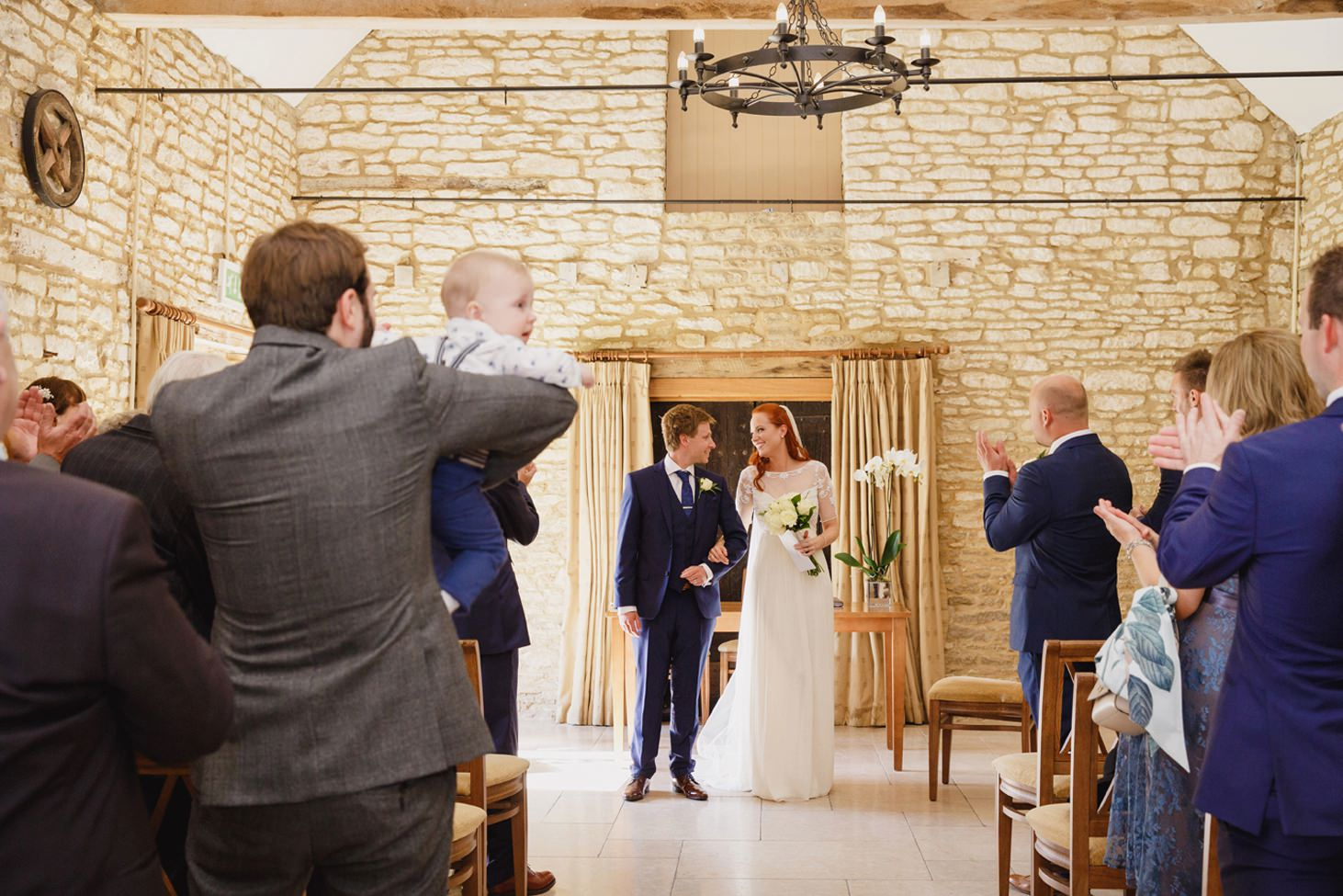 Caswell House wedding photography bride and groom married
