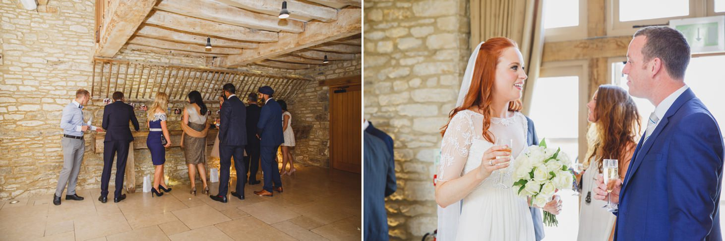 Caswell House wedding photography guests