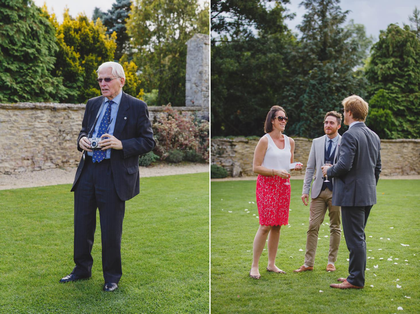 Caswell House wedding photography wedding guests
