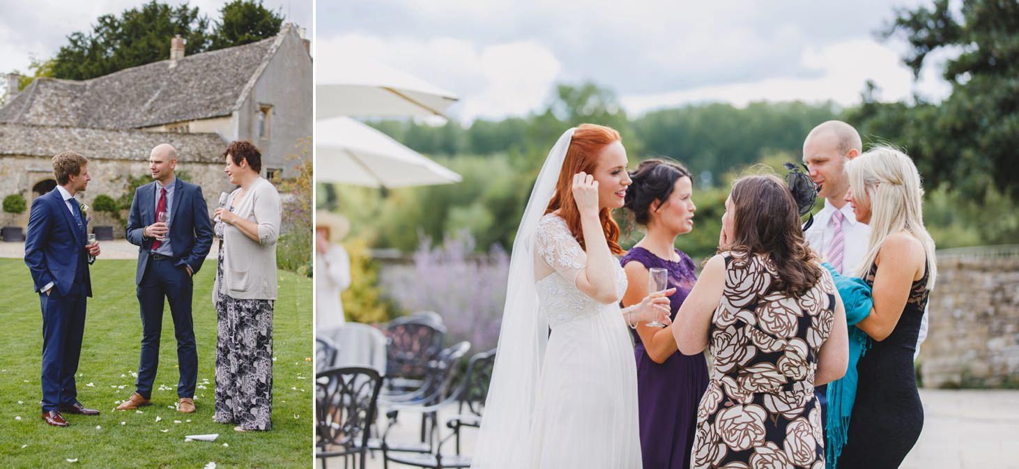 Caswell House wedding photography reception