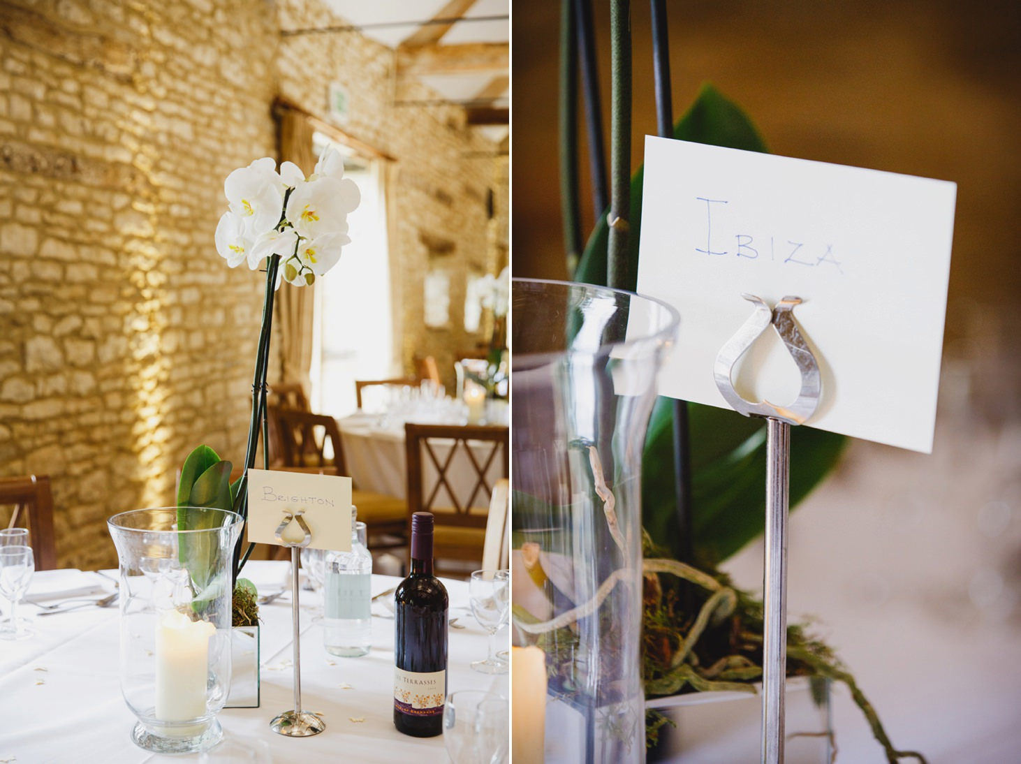 Caswell House wedding photography table decorations