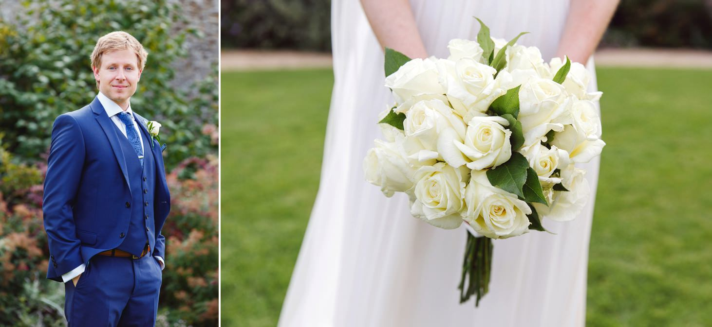 caswell house wedding photography brides bouquet