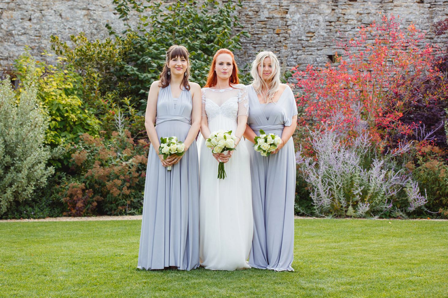 caswell house wedding photography bridesmaids and bride