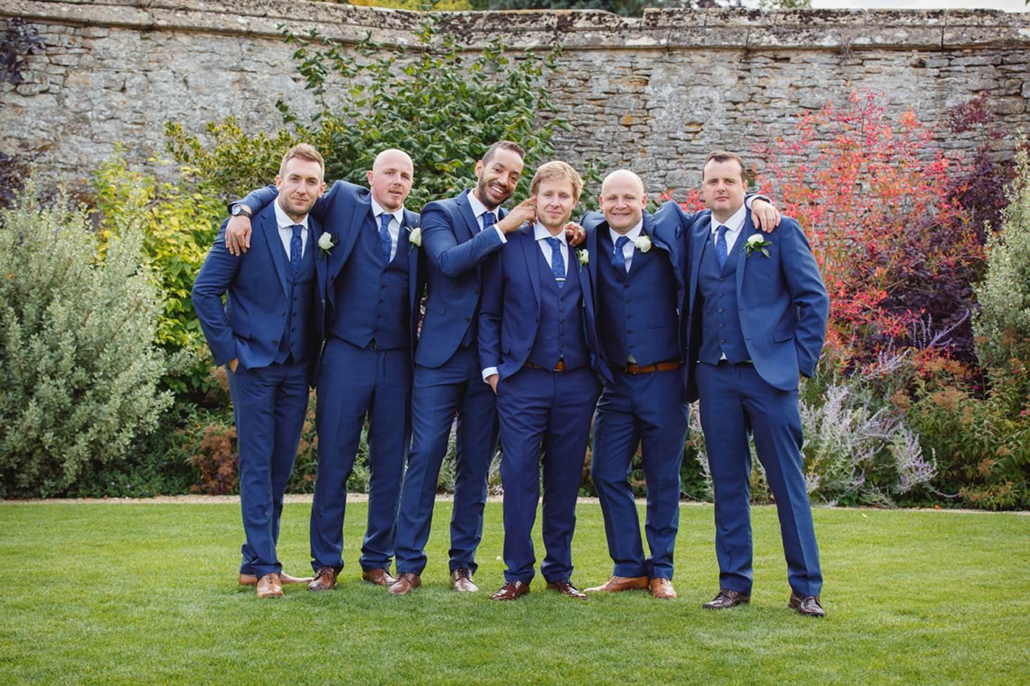 caswell house wedding photography groomsmen together