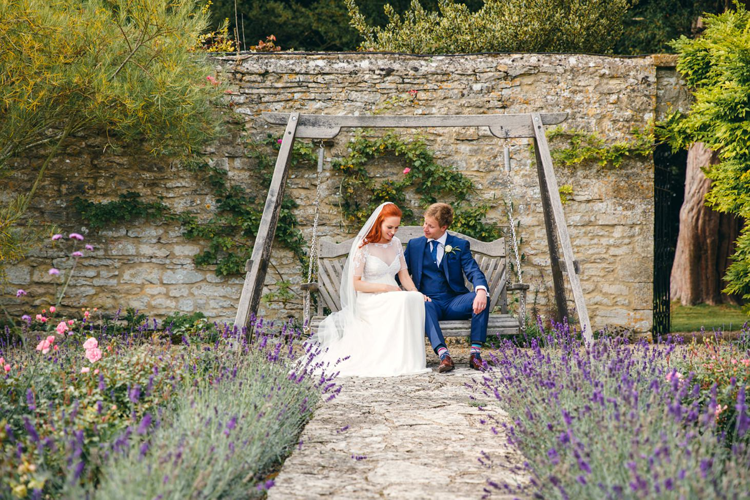 caswell house wedding photography swing seat portrait