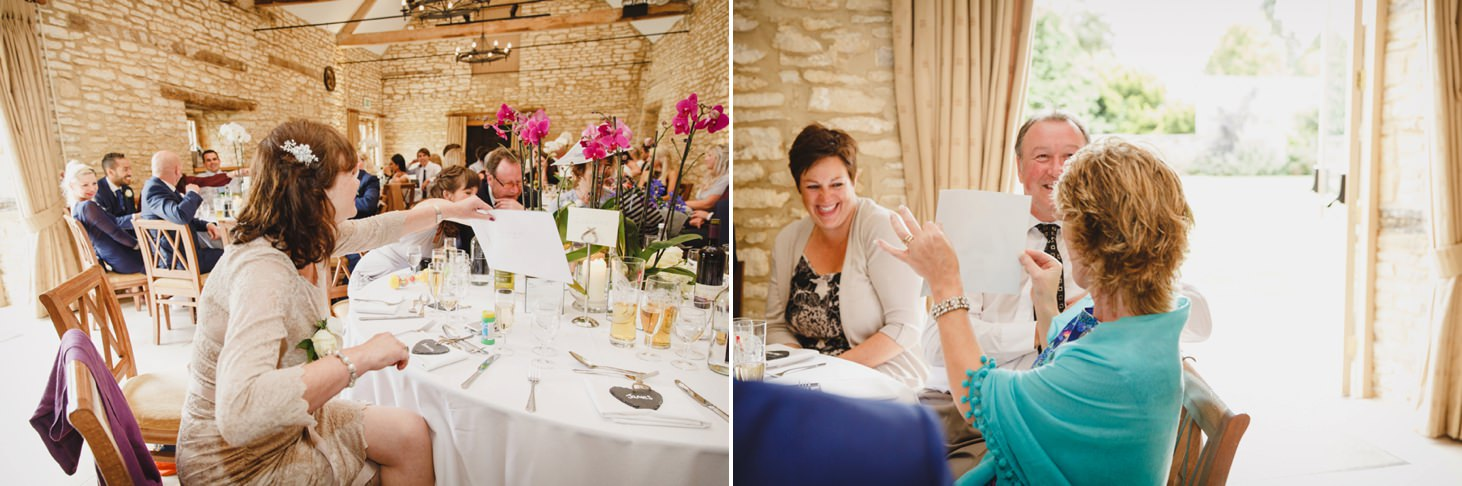 caswell house wedding photography guests laughing