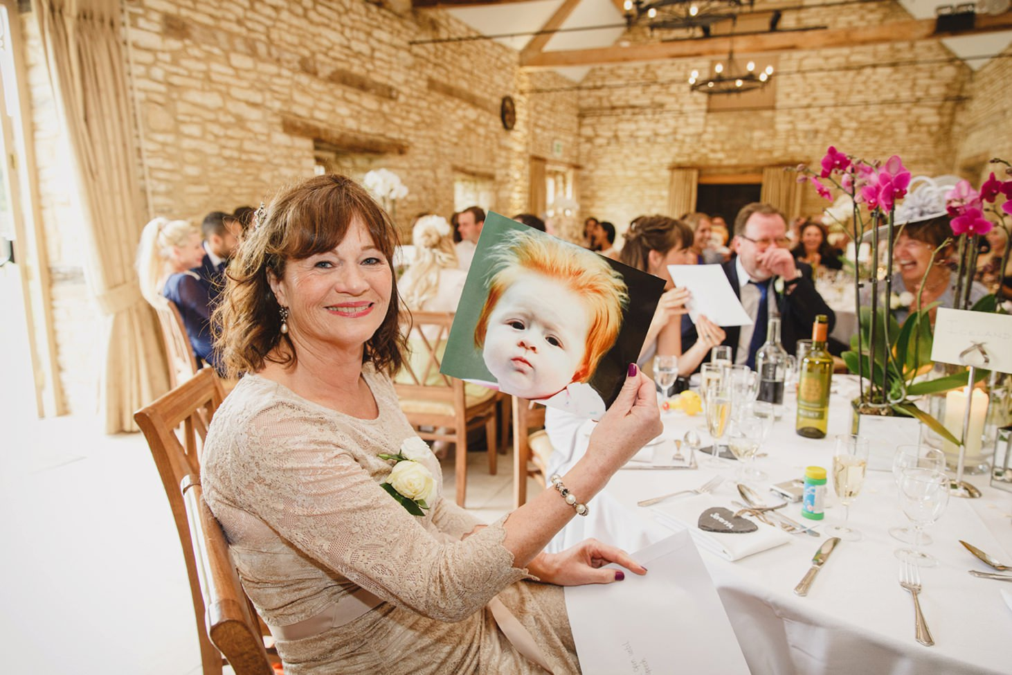 caswell house wedding photography fun picture at speeches
