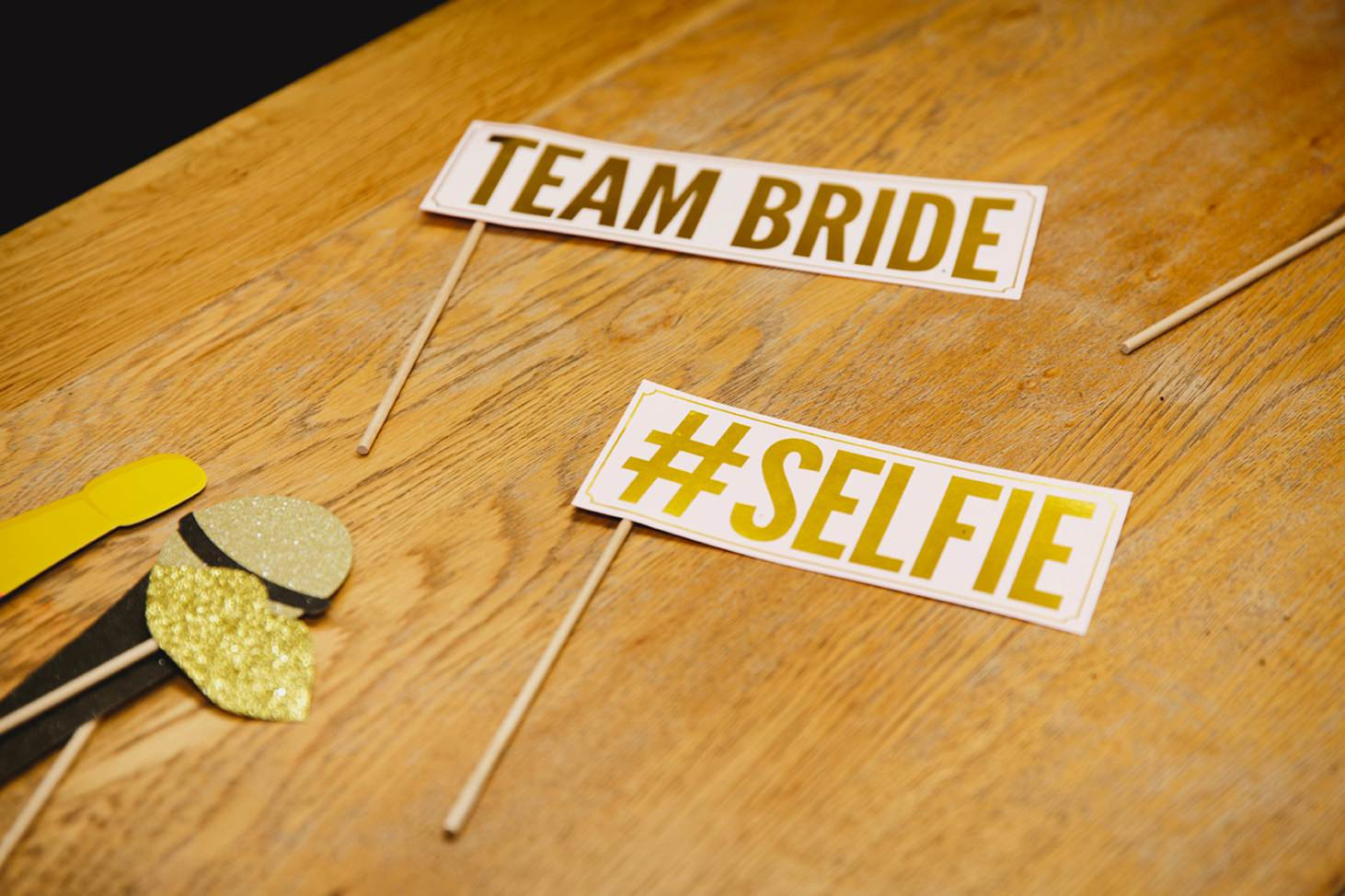 caswell house wedding photography Photo Booth props