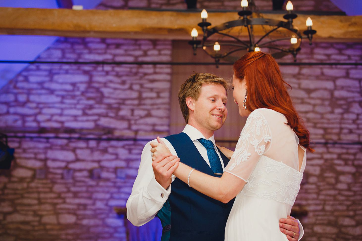 caswell house wedding photography bride and groom first dance