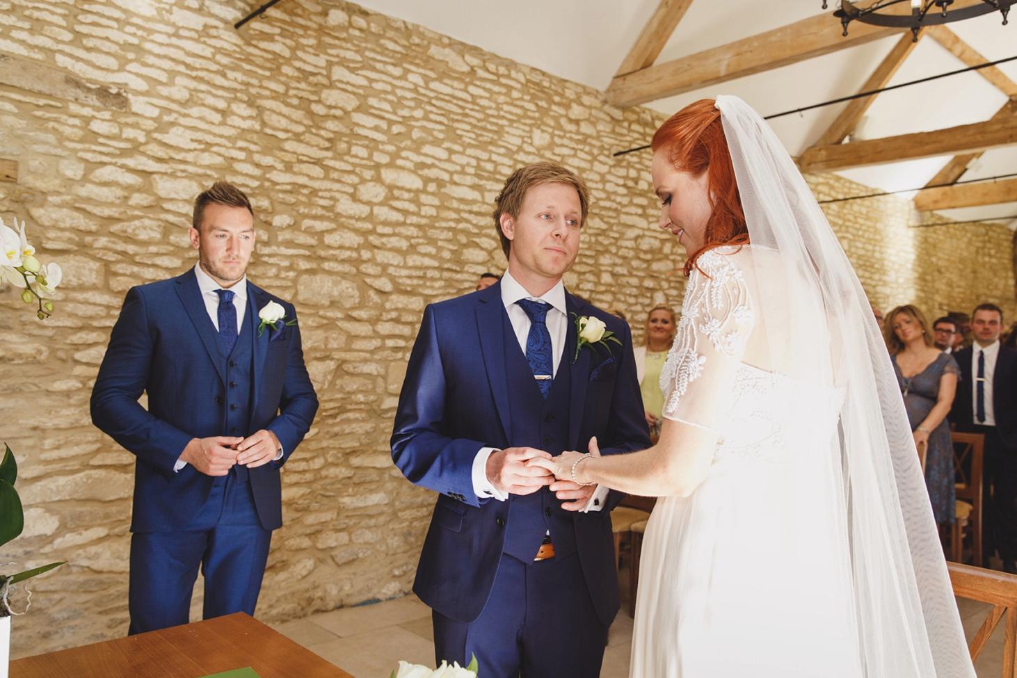 caswell house wedding photography wedding ceremony