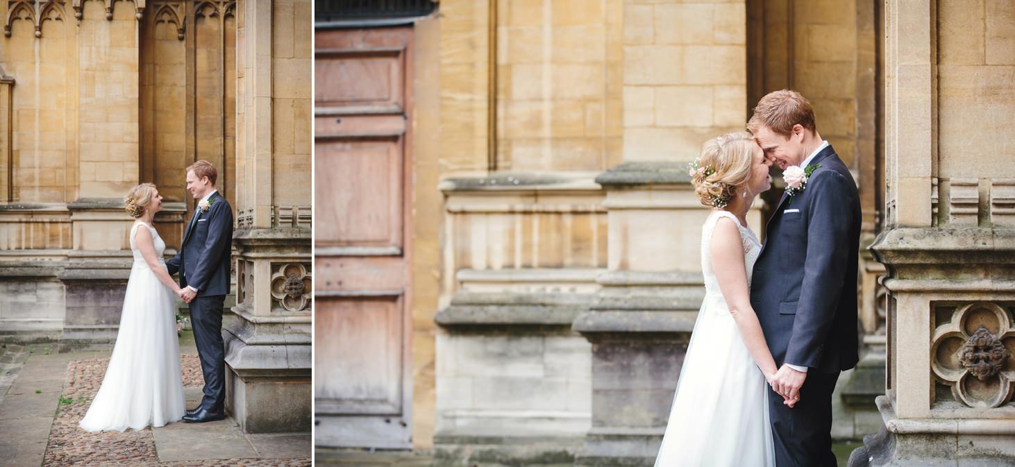 Bodleian library wedding couples session