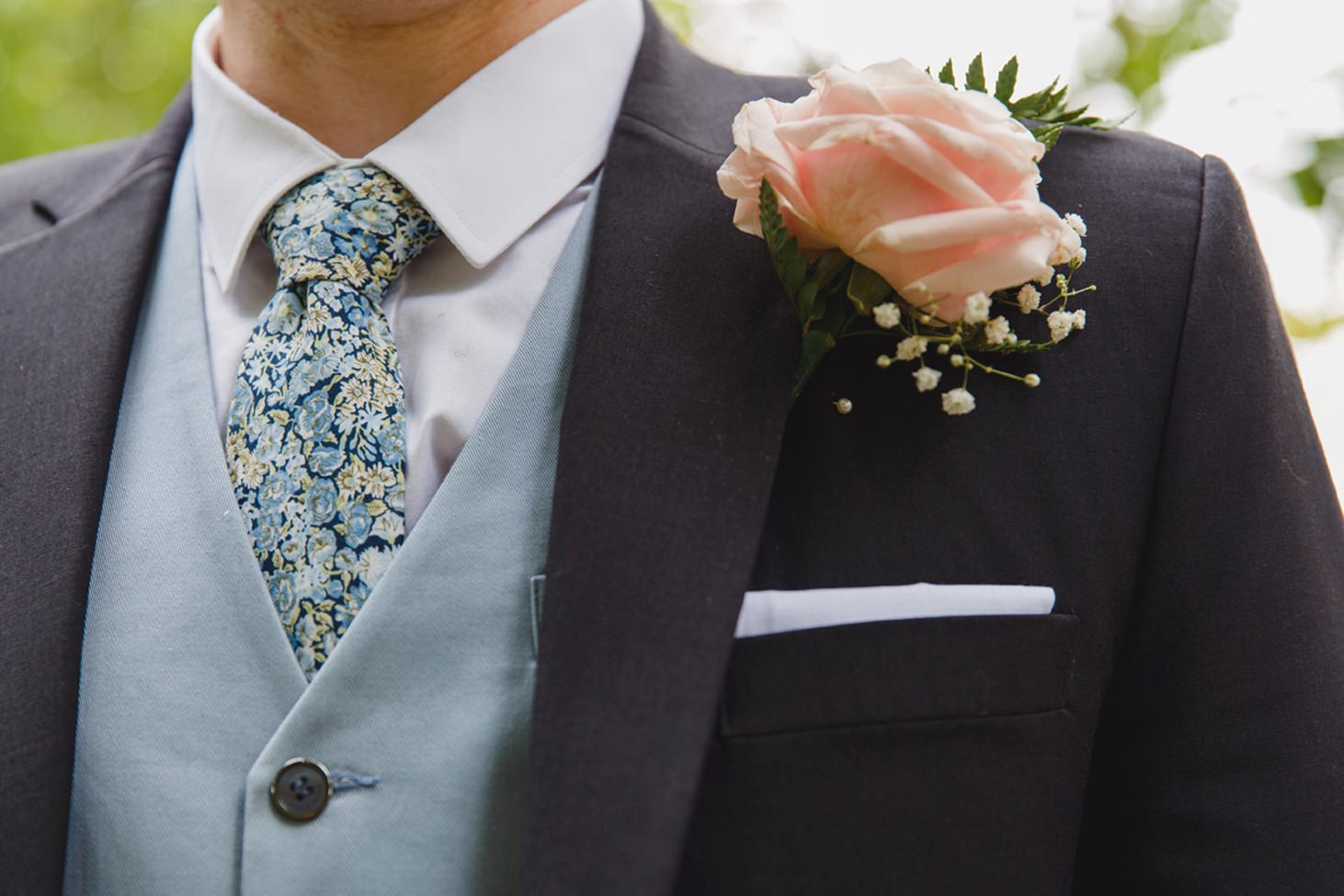 Bodleian library wedding grooms buttonhole