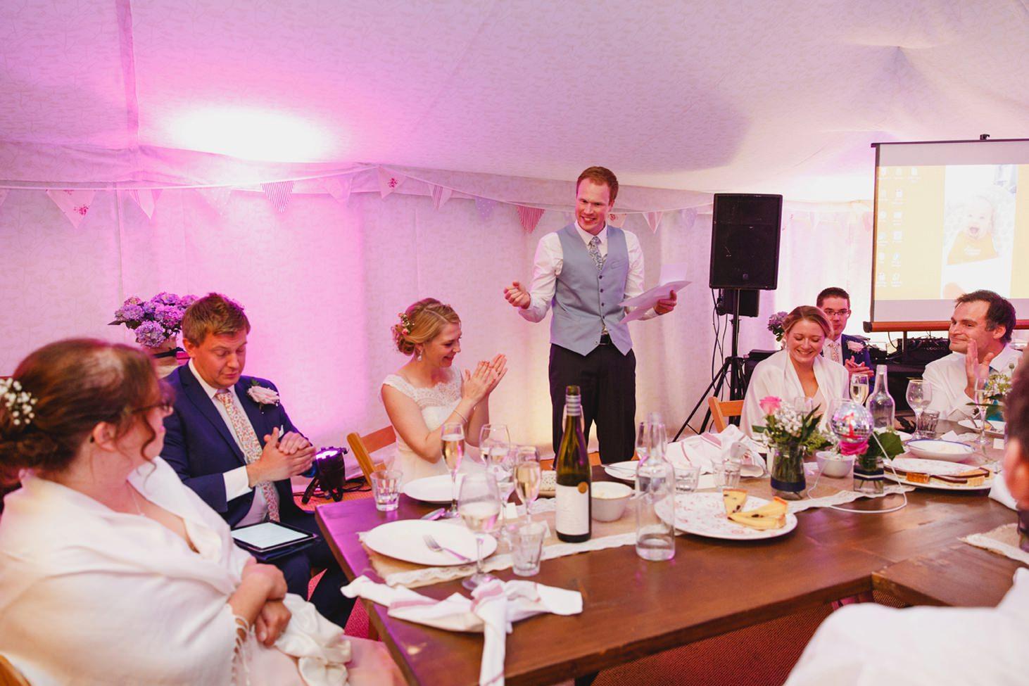 Bodleian library wedding speeches groom