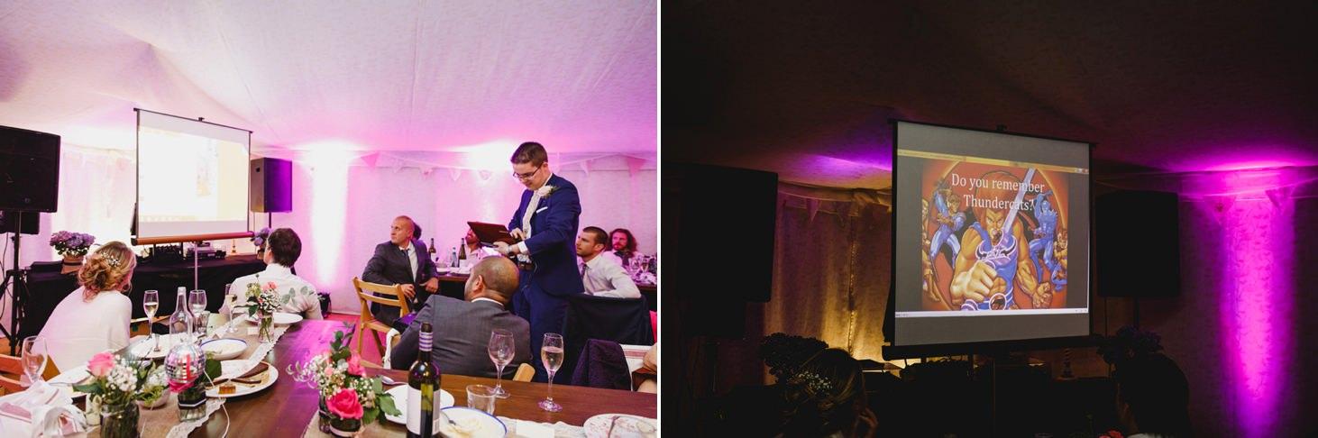Bodleian library wedding slideshow speech