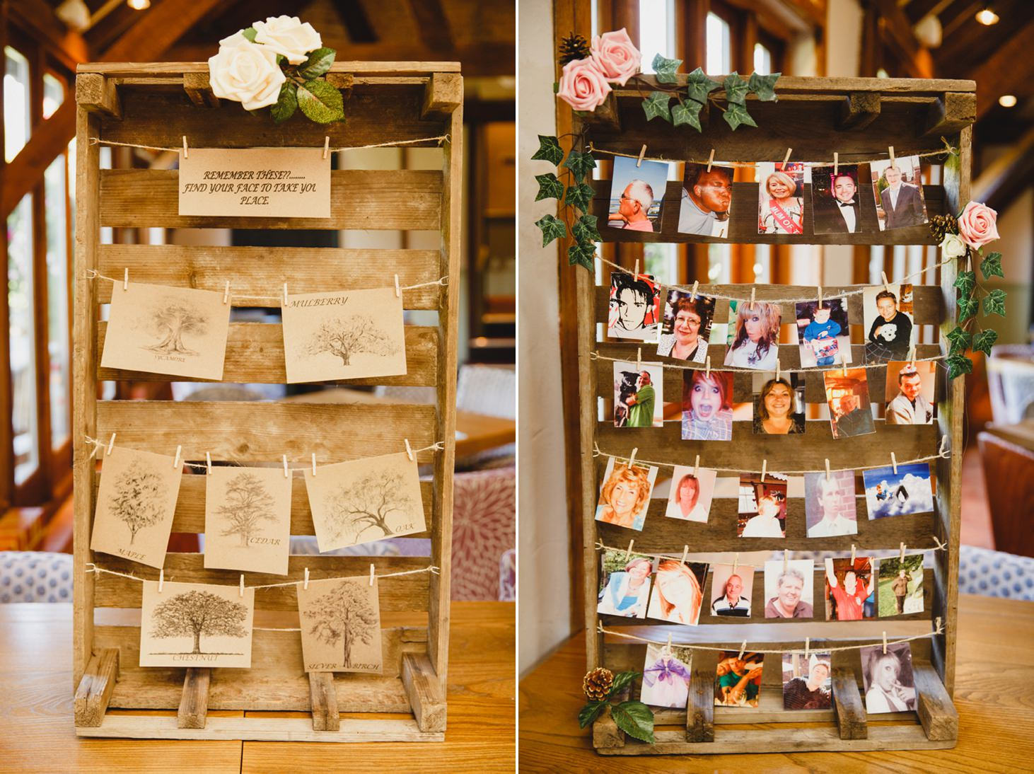 fun natural wedding photography seating plan photographs