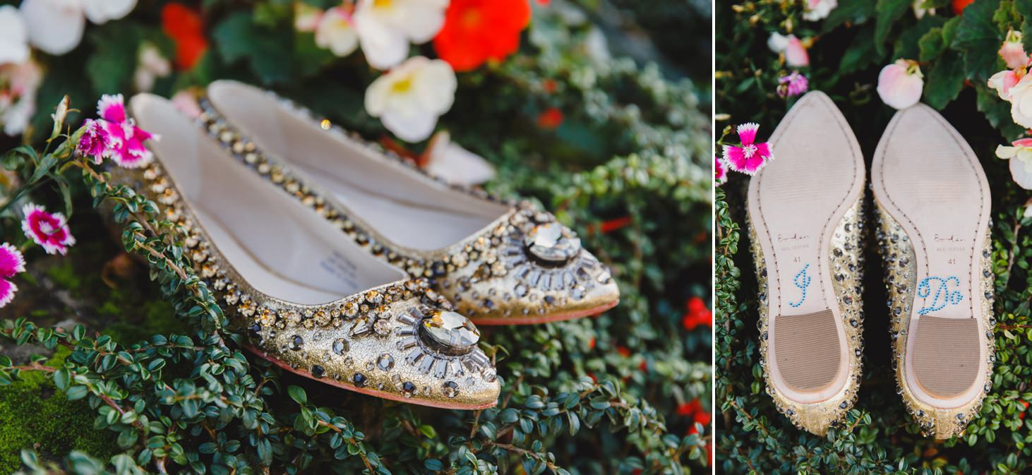 fun natural wedding photography wedding shoes