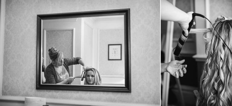 Down Hall hotel wedding photography bridesmaids rep