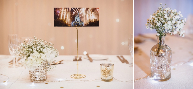 Down Hall hotel wedding photography disney table decorations