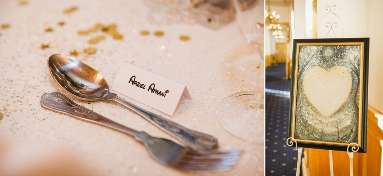 Down Hall hotel wedding photography table decorations disney