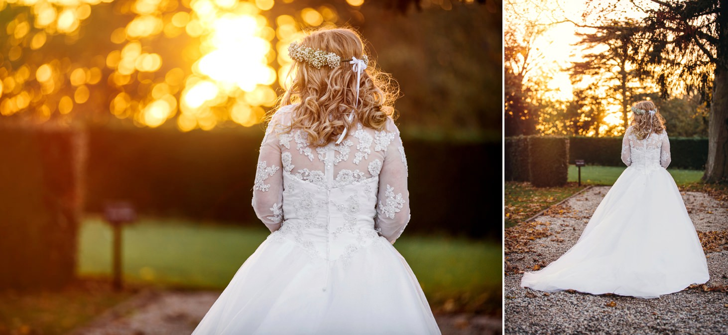 Down Hall hotel wedding photography bride portrait