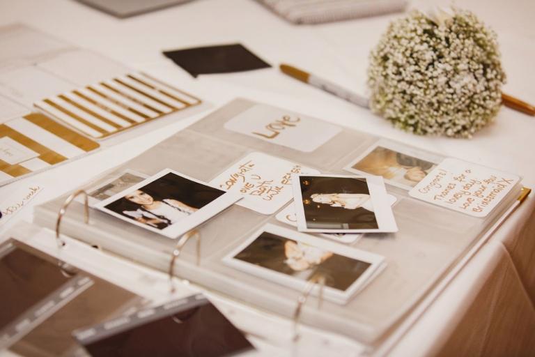Down Hall hotel wedding photography wedding polaroids