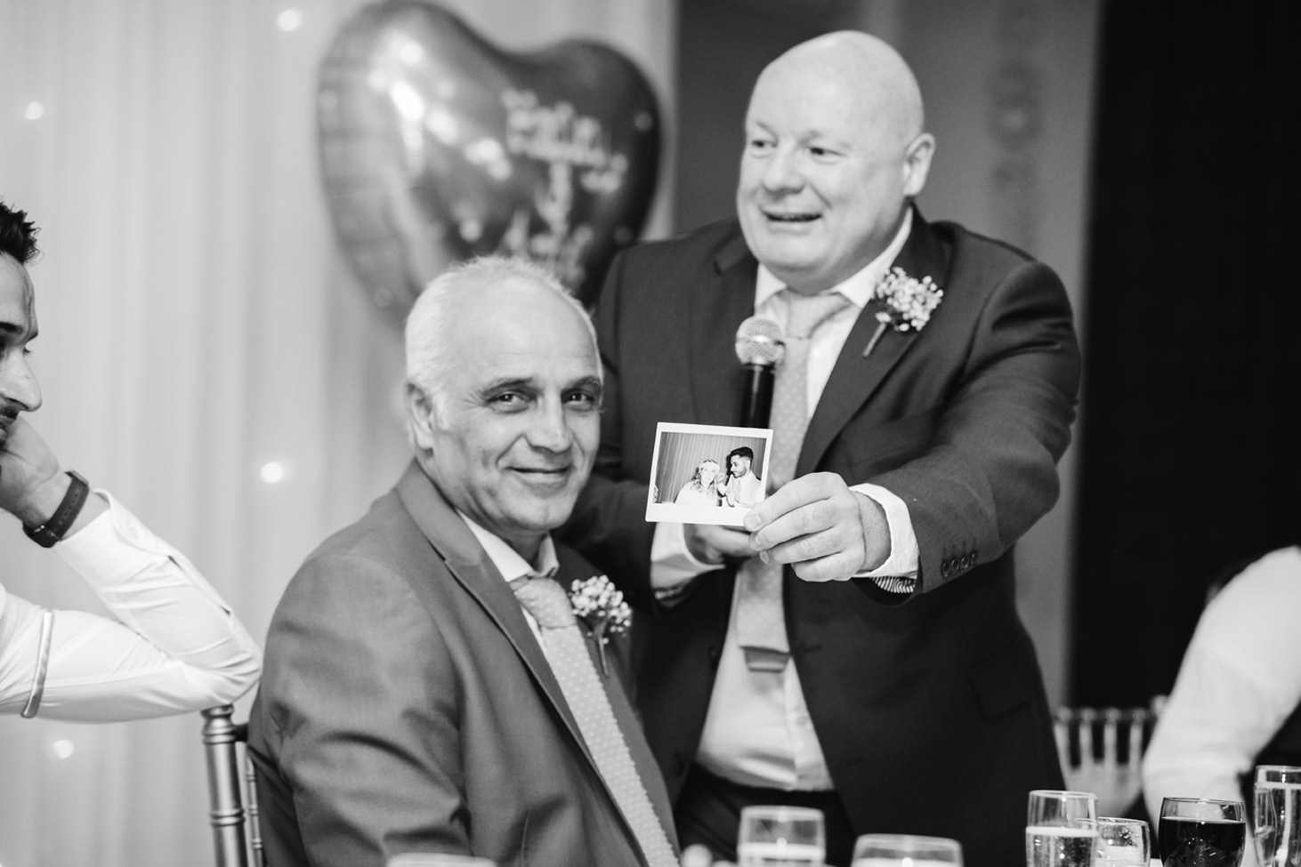 Down Hall hotel wedding photography father of the bride speeches