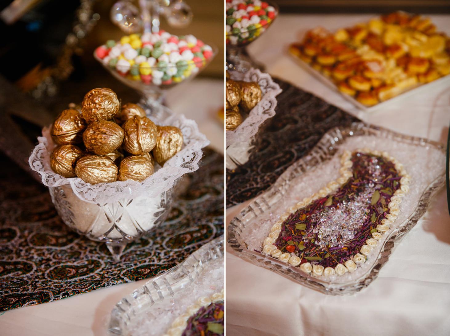 Down Hall hotel wedding photography iranian food
