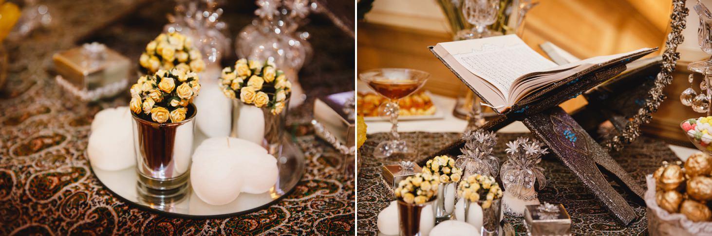 Down Hall hotel wedding photography iranian book