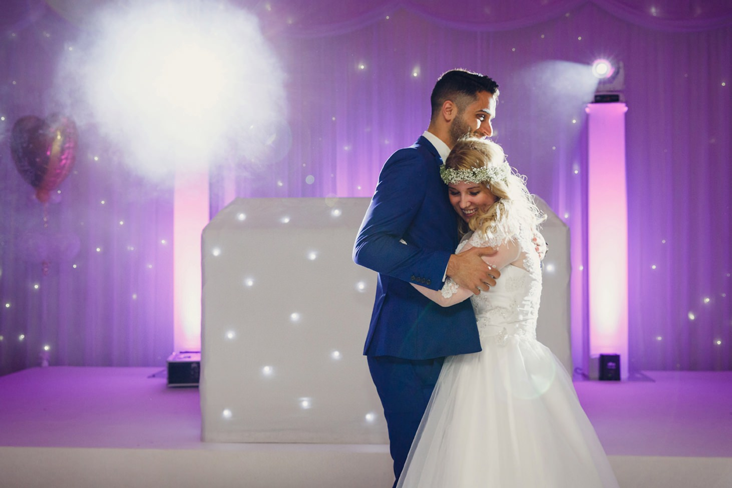 Down Hall hotel wedding photography wedding dance