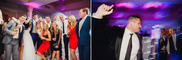 Down Hall hotel wedding photography wedding reception dance