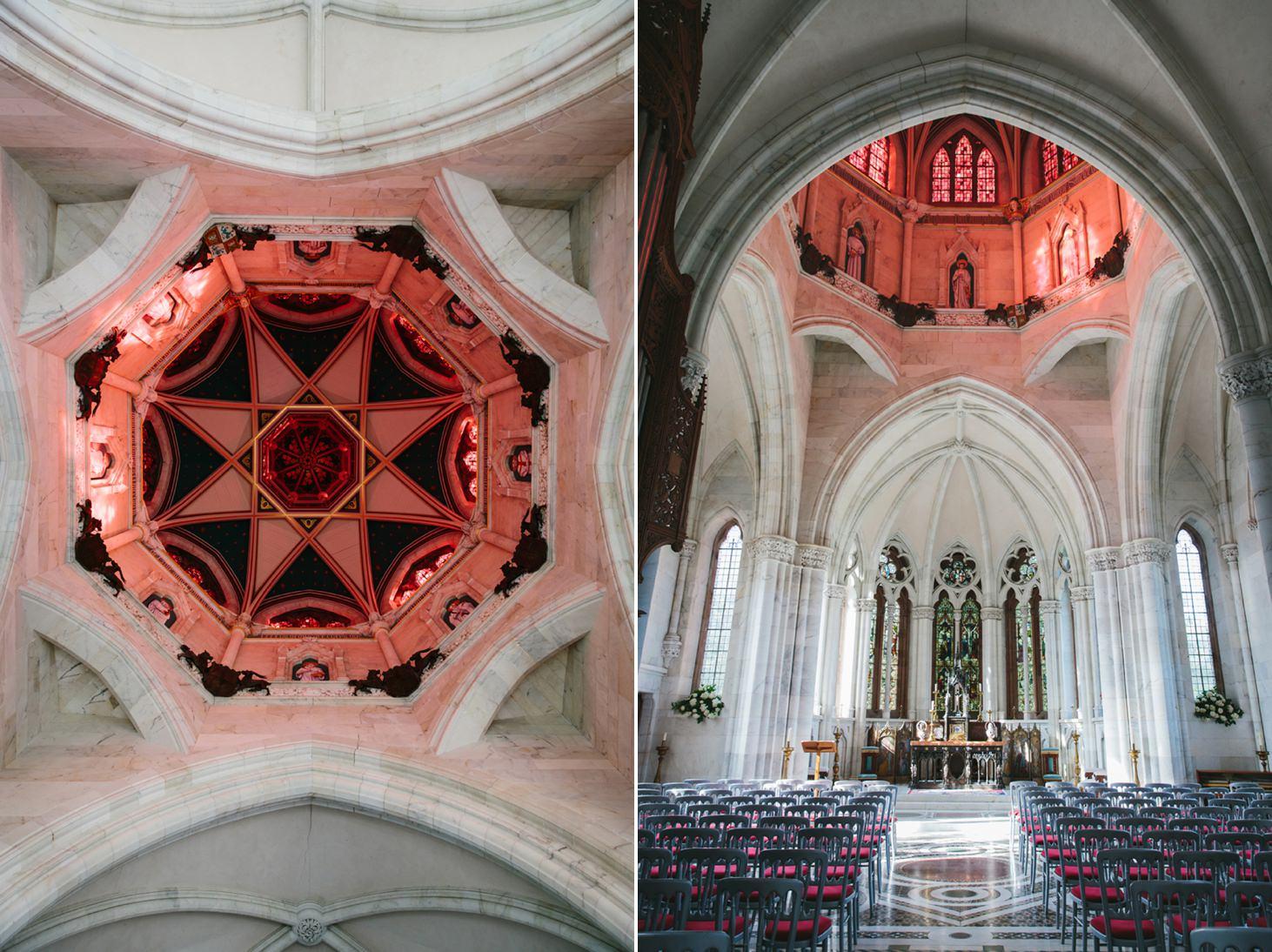 mount stuart wedding photography marble chapel