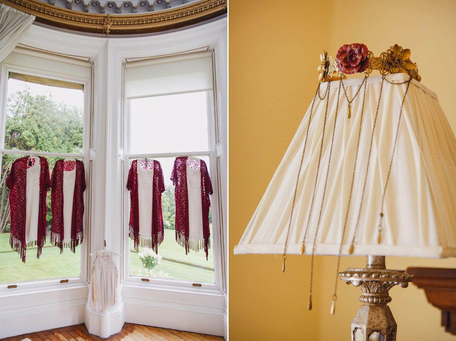 mount stuart wedding photography bridesmaids dresses and crown