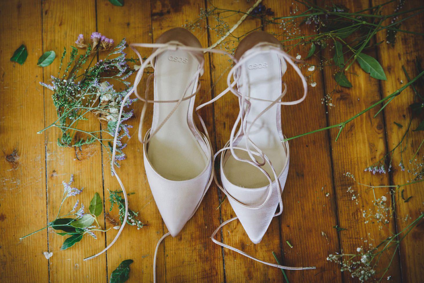 mount stuart wedding photography wedding shoes