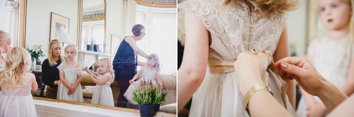 mount stuart wedding photography flower girls